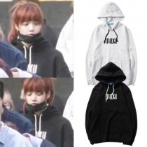 ALLKPOPER KPOP BLACKPINK Hoodie LISA Pullover WHISTLE Sweatershirt JISOO JENNIE Rose