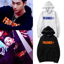 ALLKPOPER KPOP GOT7 JB Hoodie 7 FOR 7 Pullover FRIENDS Letter Sweater Street Shooting Tops