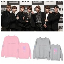 ALLKPOPER KPOP BTS Sweater Bangtan Boys Pullover Love Yourself Casual Tops SUGA J-HOPE