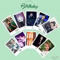ALLKPOPER KPOP 20pcs BTS J-HOPE Birthday Lomo Card Bangtan Boys Photocard Postcard