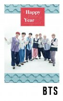 8PCS KPOP BTS Happy New Year Lomo Card Bangtan Boys Photocard JUNG KOOK JIMIN