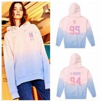 ALLKPOPER KPOP BTS Gradient Cap Hoodie Face Yourself Sweater Bangtan Boys Unisex  Coat