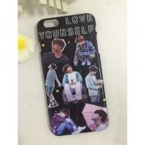 Kpop BTS JIMIN Phone Case Bangtan Boys Love Yourself for Apple Iphone 8 7 PLUS X 10 7PLUS 8PLUS