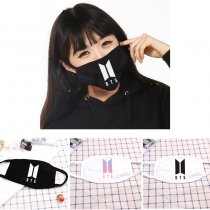 KPOP BTS Mask Bangtan Boys Face Respirator Muffle Jung Kook J-Hope V Mouth Mask