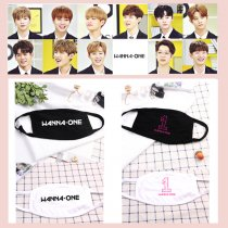 Kpop Wanna One Masks Mouth Mask Kang Daniel LAI KUAN LIN Face Muffle Respirator