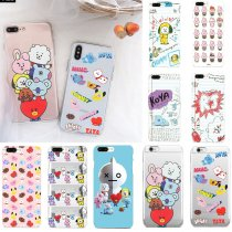 KPOP BTS Phone Case Bangtan Boys Signature Phone Cover Cute SUGA V JIN JIMIN
