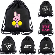 Kpop BTS Backpack Wanna One GOT7 Schoolbag EXO Twice Satchel Seventeen Bag