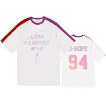 K-POP BTS T-shirt Bangtan Boys Love Yourself 轉 Tear Splice Tshirt Suga Jin V Jungkook Tee