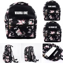 KPOP Wanna One Schoolbag Lai Kuan Lin Satchel Shoulder Bag Kang Daniel Backpack