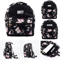 KPOP GOT7 Schoolbag Jackson Satchel Shoulder Bag Mark JR JB Backpack