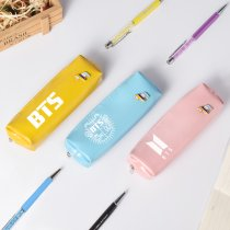 KPOP BTS Pencil Case Bangtan Boys Jin Jimin Jungkook V Bag Makeup Bag