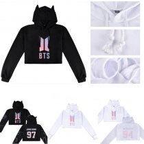 ALLKPOPER KPOP BTS Sweatershirt Bangtan Boys Love Yourself Tear V SUGA JIMIN Cap Hoodie