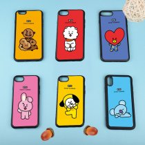 ALLKPOPER KPOP BTS Phone Case Love Yourself Answer Bangtan Boys BT21 Tempered Glass Phone Cover