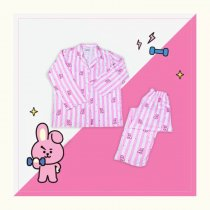 ALLKPOPER KPOP BTS Sleepwear Bangtan Boys Cartoon Cooky Mang Shooky Leisure Pajamas