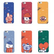 ALLKPOPER KPOP BTS Cellphone Case V SUGA JIN JIMIN Phone Case for iphone 6/7/8/7P/8P/X/XR/XS