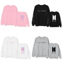 ALLKPOPER Kpop BTS SUGA Sweatshirts V JIN JIMIN J-HOPE JUNG KOOK RAP MONSTER Cotton Sweater