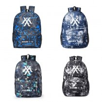 ALLKPOPER KPOP MONSTA X Backpack KIHYUN SHOWNU IM JOOHEON Starry Schoolbags Unisex