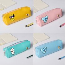 ALLKPOPER KPOP BTS Pencil Case CHIMMY COOKY KOYA MANG RJ SHOOKY BT21 Bag Makeup Bag
