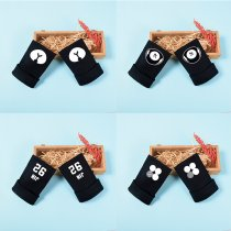 ALLKPOPER KPOP BTS Gloves J-HOPE RAP MONSTER VAN Half-finger Gloves JIMIN JIN