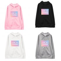 ALLKPOPER KPOP BTS Hoodie Sweater V SUGA JIN JIMIN J-HOPE JUNGKOOK Sweatershirt Rap Monster