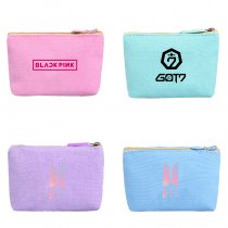 ALLKPOPER KPOP Wallet BLACKPINK  BTS EXO GOT7 MONSTA X SEVENTEEN TWICE Purse Gift