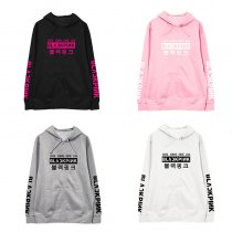 ALLKPOPER KPOP BLACKPINK Hooded Sweater JENNIEJISOO LISA Hoodie Sweatshirt