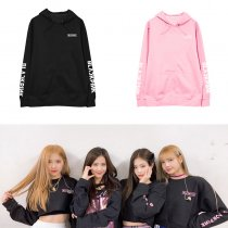 ALLKPOPER KPOP BLACKPINK Hooded sweater JENNIE LISA JISOO Hoodie Sweatshirt ROSE
