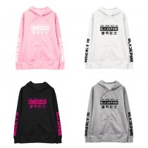 ALLKPOPER KPOP BLACKPINK Hooded Sweatshirt JENNIE JISOO LISA ROSE Cap Sweater