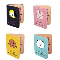 ALLKPOPER KPOP BTS Wallet CHIMMY COOKY SHOOKY MANG RJ KOYA BT21 Purse