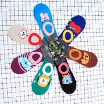 KPOP BTS Socks J-HOPE SUGA Cotton Mid Tube Socks Support Gift TATA Sock