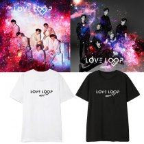KPOP GOT7 T-shirt Love Loop Concert Tshirt Jackson BamBam Mark JR Tee
