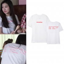KPOP IZONE T-shirt fromis9 Hye Won the same style short sleeve T-shirt,shirt ,Hye Won