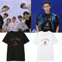 KPOP NCT team WayV T-shirt WinWin Lucas the same style short-sleeved T-shirts for men and women Tee
