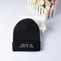 Kpop BLACKPINK Hat IN YOUR AREA 2019 BEANIE Pink Hat Cap Concert Knit Cap
