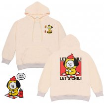 Kpop BTS sweater Bangtan boys new hoodie cartoon cute student jacket CHIMMY,KOYA,TATA