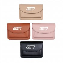 Kpop GOT7 Shoulder Bag Crossbody Korean version Simple and versatile Cute Student Mini Small square bag Large capacity