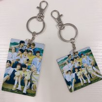 Kpop X1 Key Chain Creative Mobile Phone Pendant Creative Small Gifts Men and Women Students Custom Wholesale