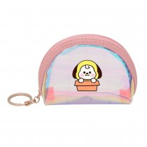 Kpop BTS Bangtan Boys Coin Purse Cute Laser Color Clutch Cartoon Pendant Bag Coin Purse CHIMMY KOYA