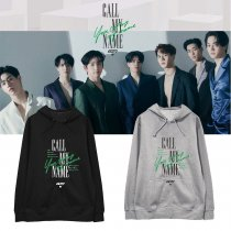 Kpop GOT7 Sweater album Call My Name the same paragraph hooded sweater hoodie plus velvet top