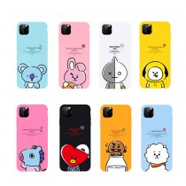 Kpop BTS Mobile Shell Bangtan Boys Star Surrounding iphone11/6/7/8 Hard Shell Cartoon Cover Applicable Apple CHIMMY COOKY KOYA