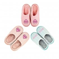 Kpop BLACKPINK Cotton Slippers Comfortable Home Shoes Indoor Outdoor Warm Cotton Shoes