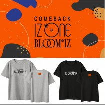 Kpop IZONE Album BLOOMIZ T-Shirt Korean Loose Bottoming Shirt Short Sleeve Top
