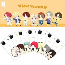 Kpop BTS Phone Case Bangtan Boys Cute Protective Cover for Apple iphone11 / XS Hard Shell