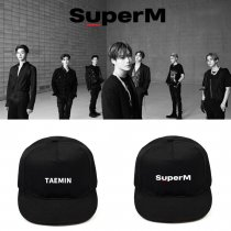 Kpop SUPER M Hat Baseball Cap Peak Cap Casual Hat Student Trend Cap Clearance Specials Wholesale