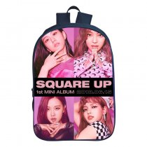 Kpop BLACKPINK Schoolbag Digital Printing 3D Backpack Campus Student Korean Fashion Casual Schoolbag
