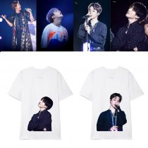 Kpop BTS T-shirt Bangtan Boys Star Surrounding Korean Loose Short-sleeved T-shirt V JIN  JUNGKOOK