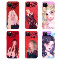 Kpop BLACKPINK Phone Case Hand-painted iphoneXS / XR / 11Pro Suitable for Apple Drop Protection Case