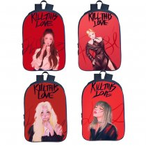 Kpop BLACKPINK Schoolbag Digital Printed 3D Backpack Student Backpack JENNIE JISOO Lisa Rosé