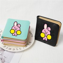 Kpop BTS Wallet Bangtan Boys Coin Purse Cartoon Cute Student Storage Bag Card Bag Coin Bag KOYA TATA