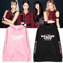Kpop BLACKPINK Sweatshirt Album KILL THIS LOVE Around The Same Hooded Sweater Coat